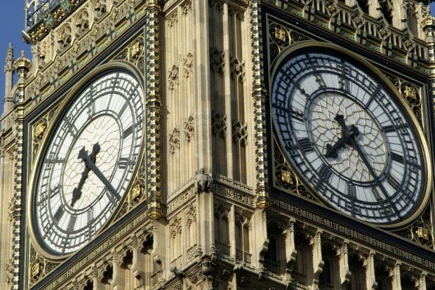 Image of big ben clock face